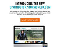 Storm Creek Website Launch Campaign