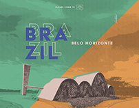 Poster - Belo Horizonte - Please come to Brazil!