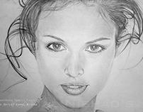 PORTRAIT OF A GIRL | Pencil Sketch