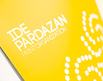 Idepardazan Printing House's Brochure