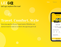 Lezgo - Travel App - Static Website