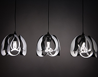 Drop pendant light - White / Black