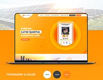 Solar Kumbara - UI Web Design