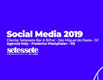 Social Media 2018/2019 - Setessete