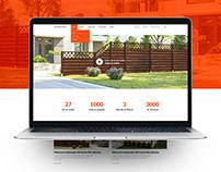 Andrewex website concept