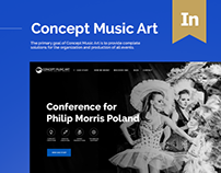 CMA.pl - Concept Music Art Website
