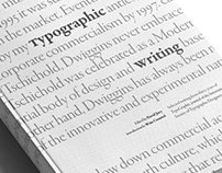 Typographic writing - Redesign of a book by the ISTD