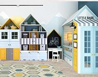 Mountain Village /дизайн-проект детской комнаты/