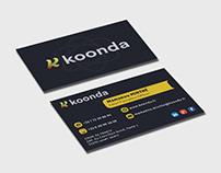 Koonda Carte de visite