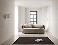 Beige small interior