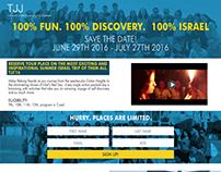 Landing Page for TJJ