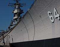 Street Photography - Battleship Wisconsin