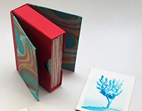 """Regal Foliage"" - Faux Box and Deck of Cards"