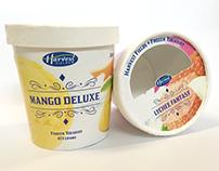 Packaging Design — Harvest Fields Frozen Yoghurt