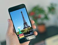Paris Snapchat Geofilter Design