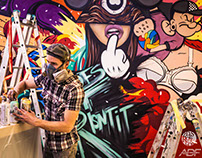 Comfy mural project Cherkassy