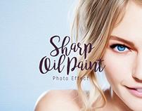 Sharp Oil Paint - Ps Action