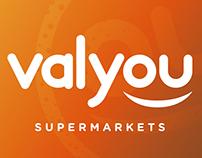 Valyou Supermarkets Branding