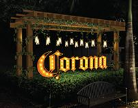 CORONA - Letrero Plaza Navona