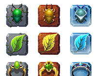 Menu Icons - Temple Run 2