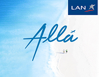 LAN AIRLINES / Allá: Redesign Visual Communication 2015