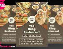 Restaurant Flyer + Social Media Post