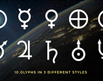 Astrology Planet Symbols