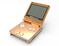 "Gameboy Advance SP ""Copper Edition"""