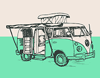 Two-Toned T1 Campervan