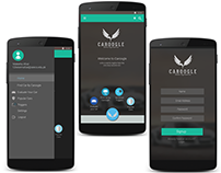 Caroogle App UI