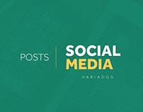 Social Media - Posts Variados