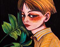MENU | 個人插畫展