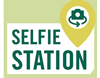 Babson College Centennial Celebration Selfie Stations