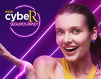 #SoyCyber Seguros Ripley - Key Visual