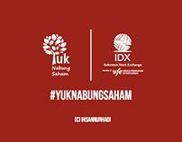 Yuk Nabung Saham Video Infographic