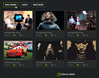 Music Portal UI