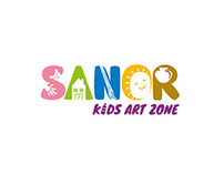 Sanor Kids Art Zone / Toronto