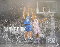 Dirk Nowitzki   Danke Dirk.