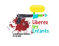 "Logo for T shirt, ""Free the Children"""