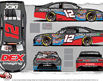 Harrison Burton K&N Pro Series DEX Imaging Design