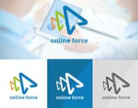 OnlineForce [branding, logo, identity]