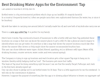 Water Apps: Tap - Allen Chi