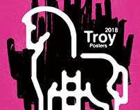 Troy poster exhibition / Turchia 2018