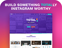 Total #1 Drag & Drop WordPress Theme