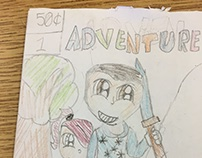 Mini Comics 4th Grade Class - Student Projects