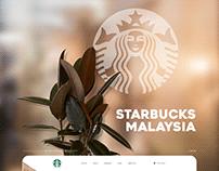Starbucks Website Design Concept