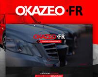 [Web Design] Okazéo : used car dealerships