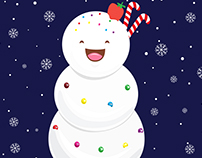 Snowcone Man