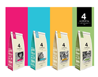 Café orgánico 4 Elementos
