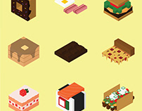 Free Isometric Icon Packs by Lil Sushi